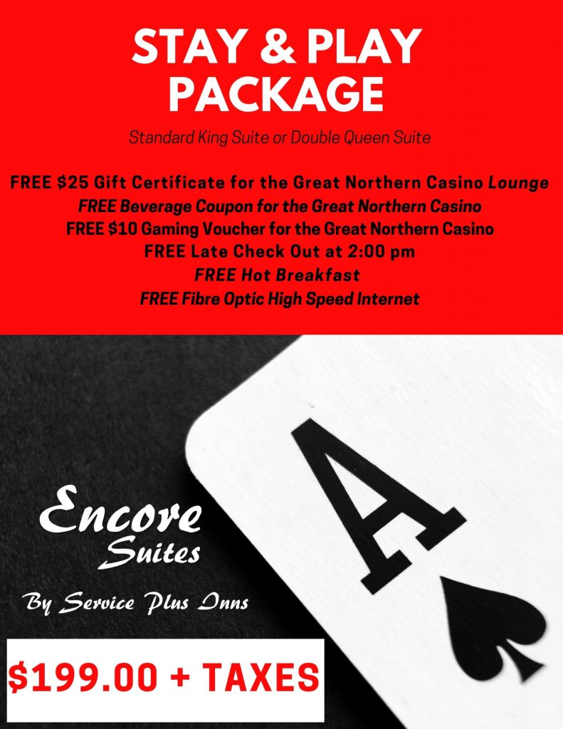 Encore Stay & Play Package
